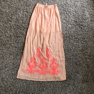 Francesca's Summer skirt